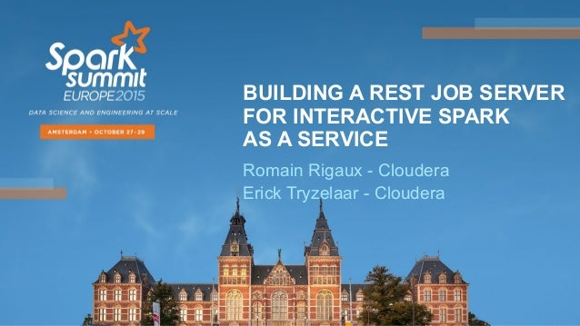 BUILDING A REST JOB SERVER