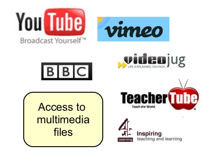 Access to  multimedia files