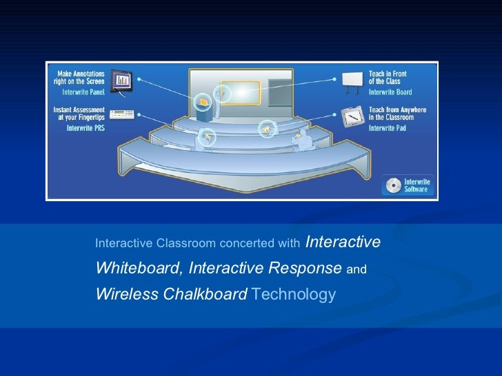 Interactive Classroom concerted with   Interactive Whiteboard, Interactive Response  and  Wireless Chalkboard  Technology