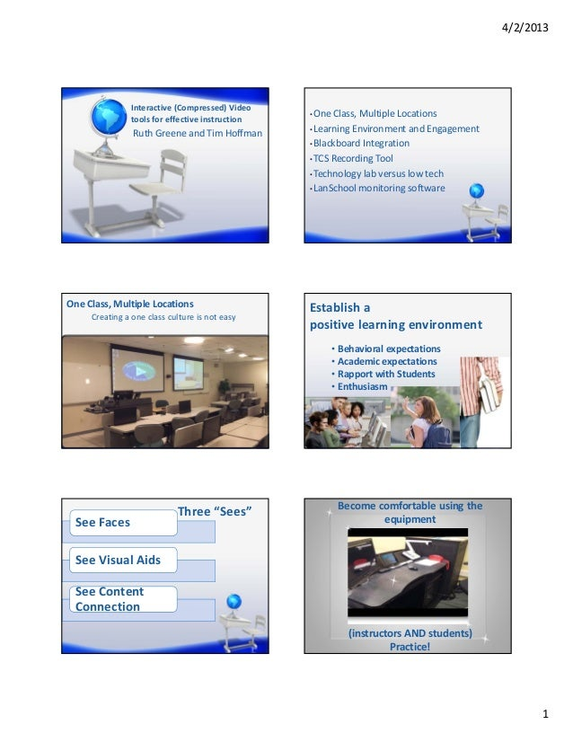 4/2/2013               Interactive(Compressed)Video                                                 • OneClass,Multipl...