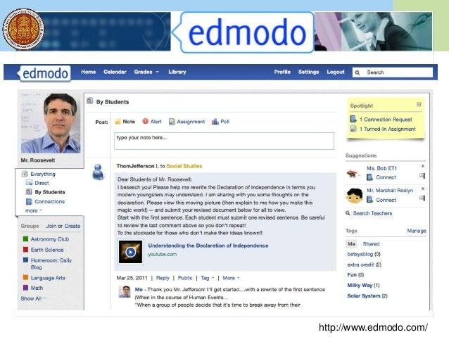 Social Media: Facebook http://www.facebook.com