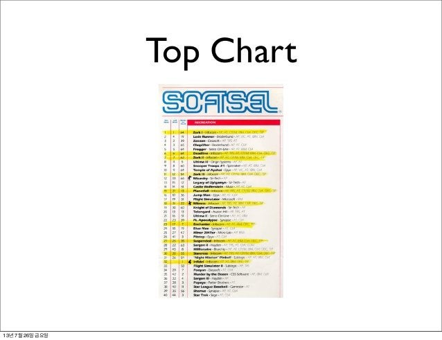Top Chart 13년 7월 26일 금요일