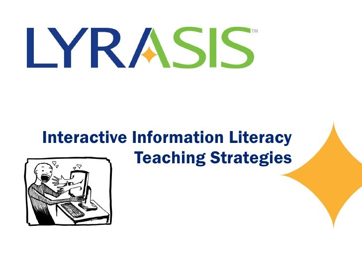 Interactive Information Literacy Teaching Strategies