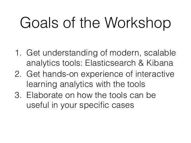 Interactive learning analytics dashboards with ELK (Elasticsearch Logstash Kibana) - LASI 2016 - Andrii Vozniuk, Maria Rodriguez-Triana, Denis Gillet Slide 3