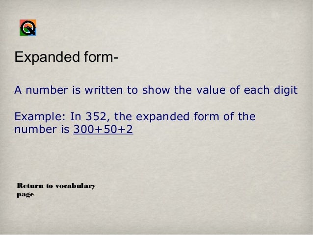expanded form 352  Interactive lesson copy