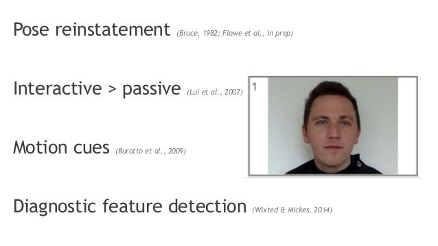 Interactive lineups can improve eyewitness performance Slide 2