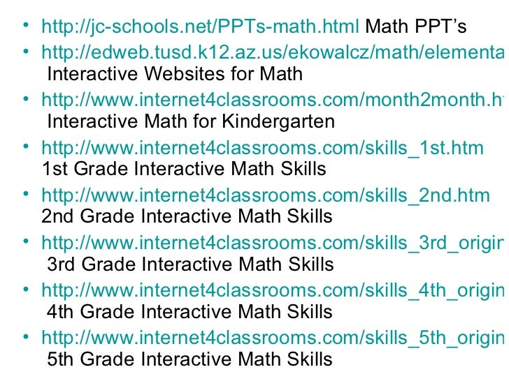 21st Century Skills in the Math Classroom Webinar
