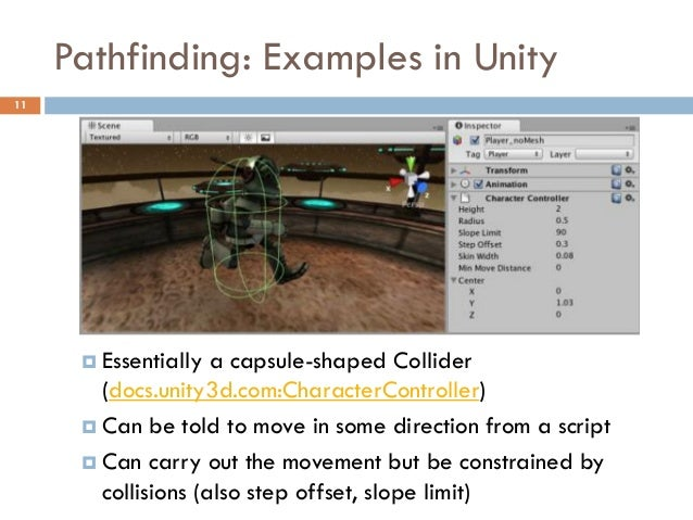 Pathfinding - Part 2: Examples in Unity