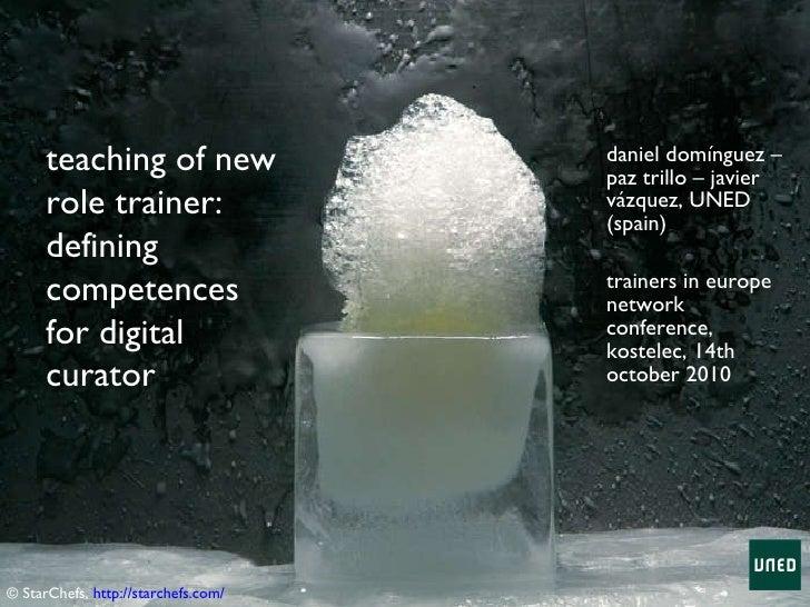 daniel domínguez – paz trillo – javier vázquez, UNED (spain)  trainers in europe network conference,  kostelec,  14th octo...