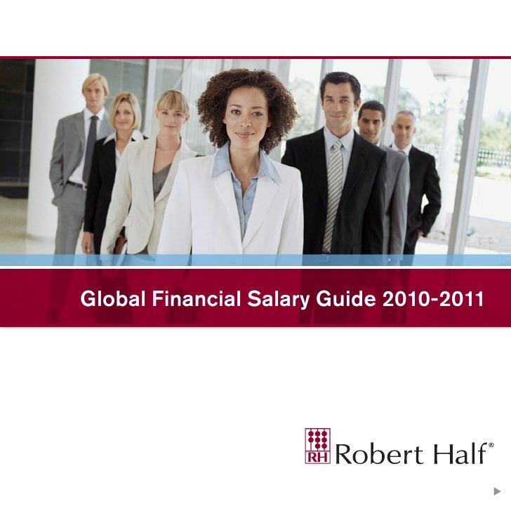 Global Financial Salary Guide 2010-2011