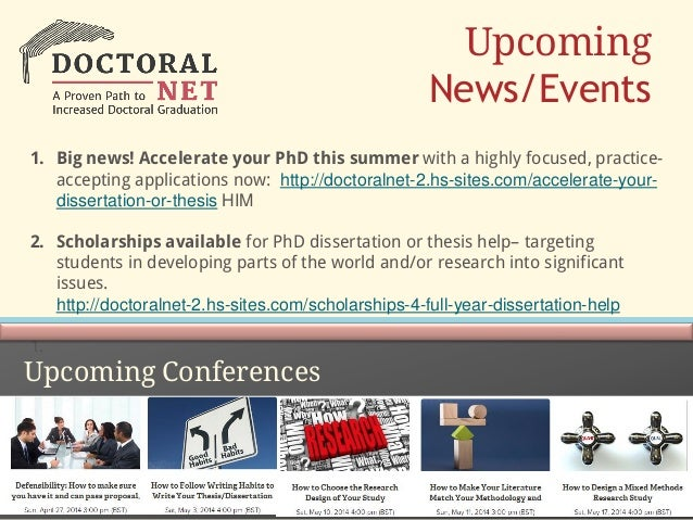 Funding opportunities for doctoral dissertation and post doctoral studies