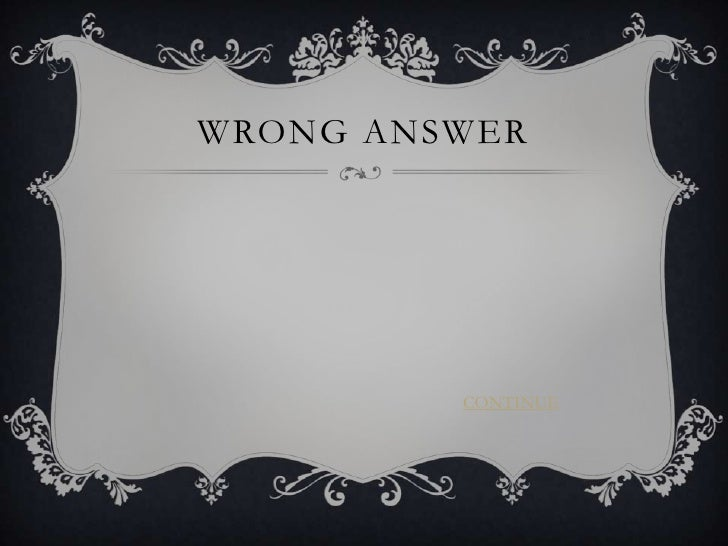 Interactive questions Slide 3