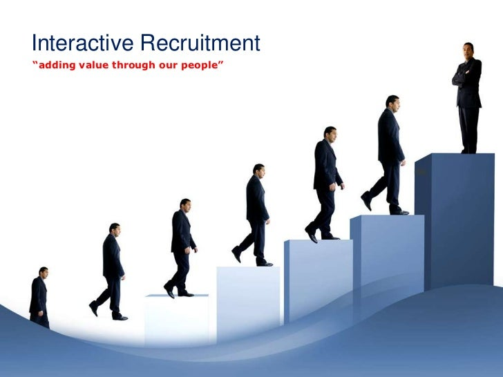 """Interactive Recruitment""""adding value through our people"""""""