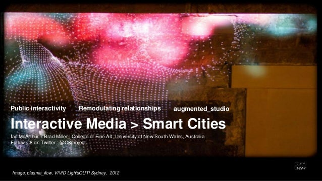 Public interactivity           Remodulating relationships                  augmented_studioInteractive Media > Smart Citie...