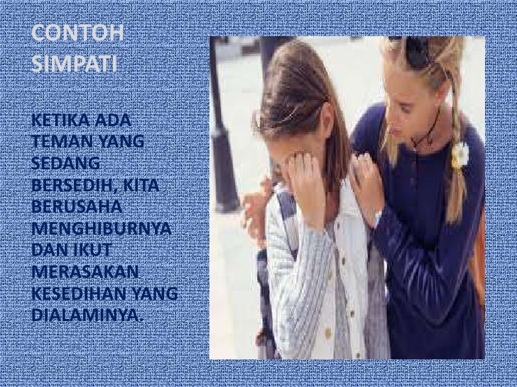 Contoh Identifikasi Simpati Empati Contoh Raffa