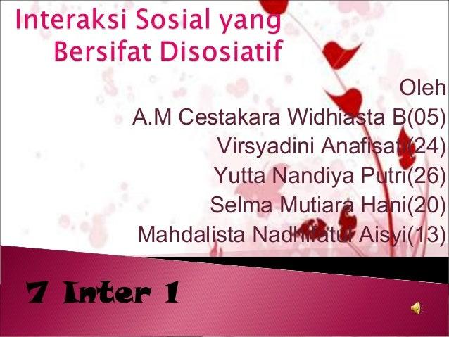 Oleh      A.M Cestakara Widhiasta B(05)             Virsyadini Anafisati(24)             Yutta Nandiya Putri(26)          ...