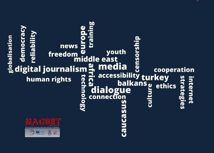 MACBET Media Project Opening Presentation