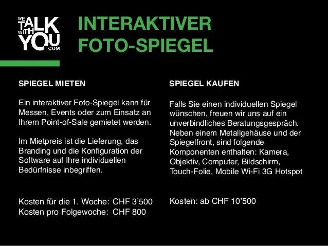 INTERAKTIVER SHOWROOM Erleben Sie in unserem Showroom an der Samariterstrasse 5 in Zürich interaktive Touch-Technologien l...