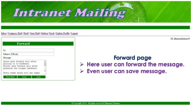 intranet mailing software