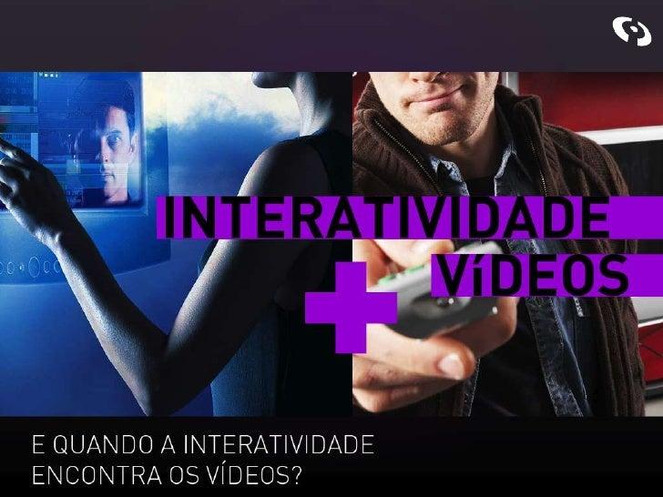 Interatividade Vídeos na Web