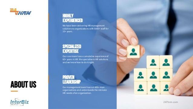 Interbiz corporate presentation