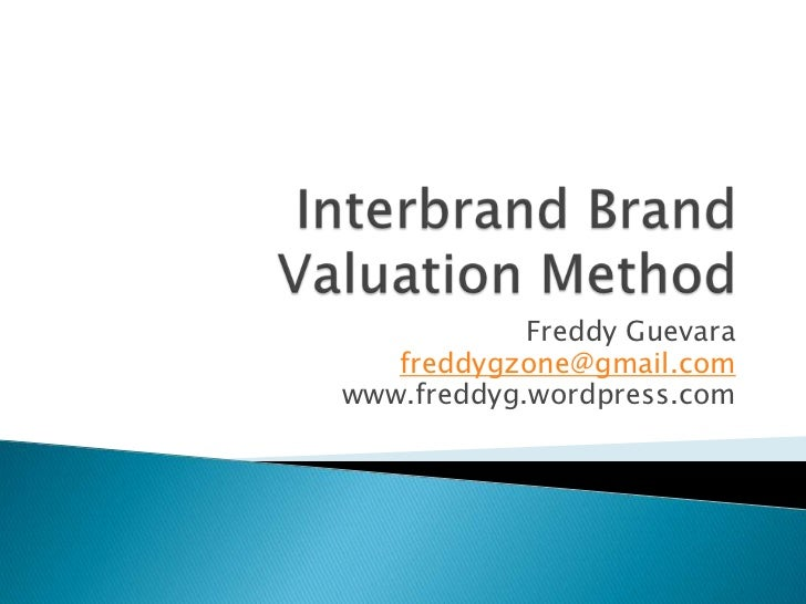 Ipo brand value relevance