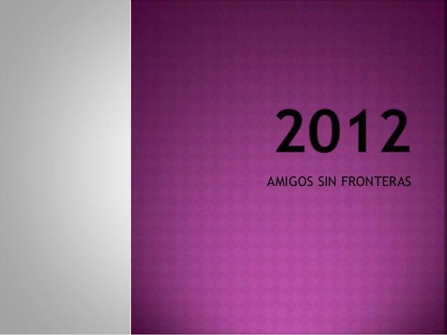 AMIGOS SIN FRONTERAS