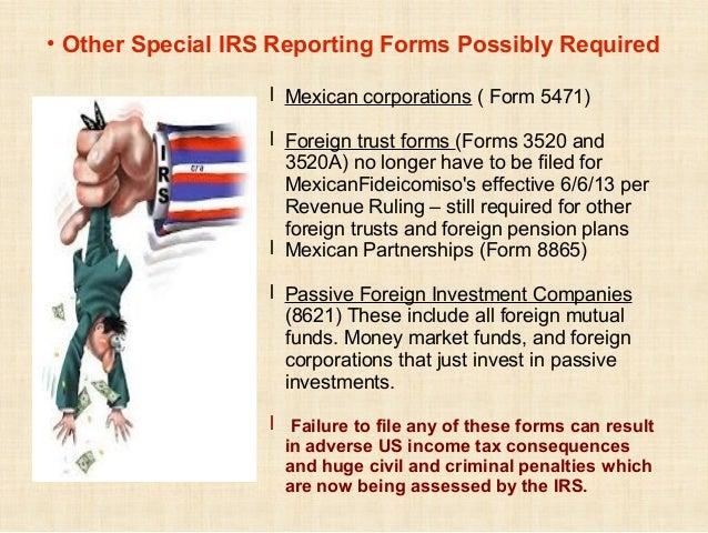 Fbar And Us Taxes For Expatriates Intercam Presentation Ixtapa M