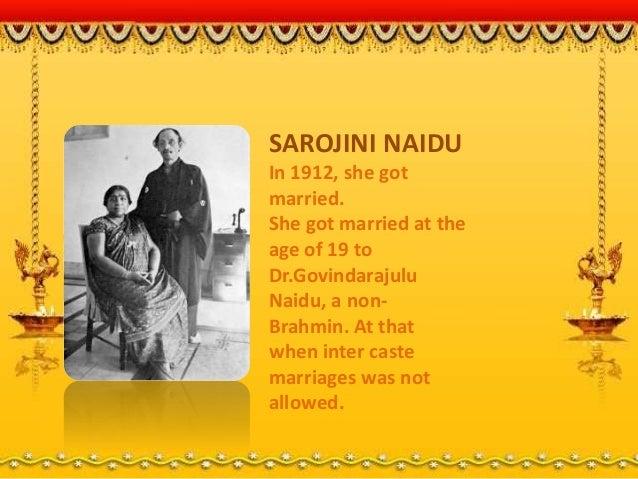 Inter caste marriage