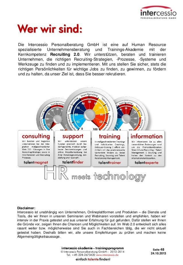 Wer wir sind: Die Intercessio Personalberatung GmbH ist eine auf Human Resource spezialisierte Unternehmensberatung und Tr...