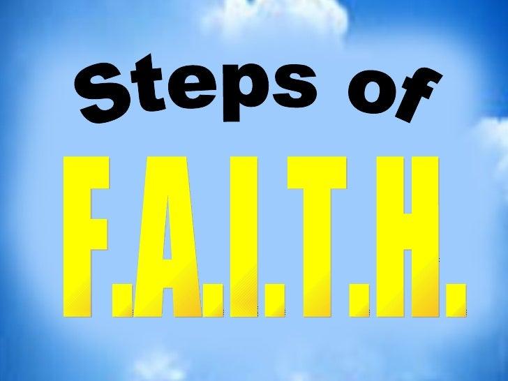 Steps of F.A.I.T.H.