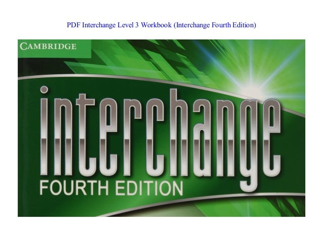 Interchange Level 3 Pdf