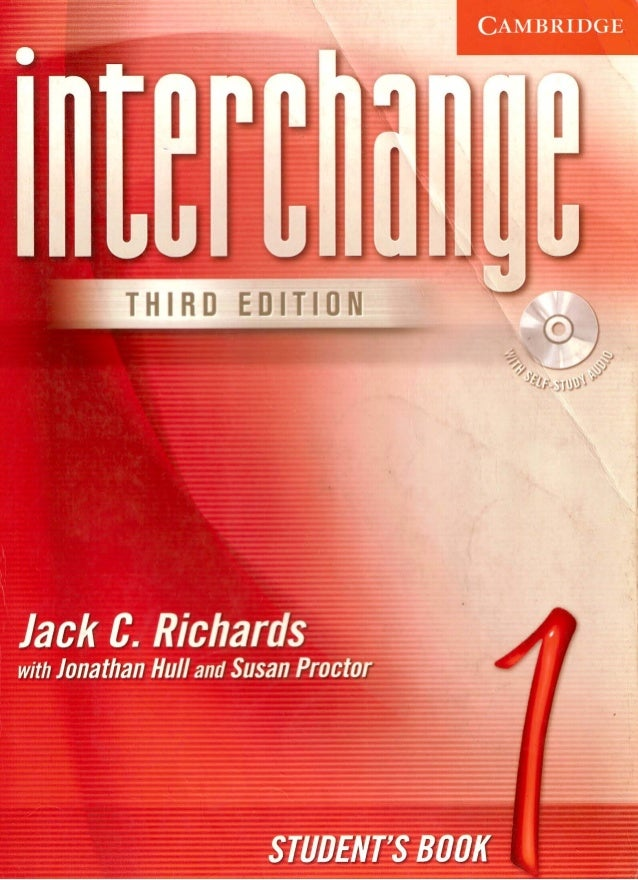 Free* interchange level 1 student's book with self-study dvd-rom.