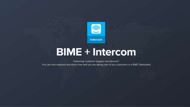 Intercom  e É + lntercom  Delivering Customer Support via Intercom?  You can now measure and share how well you are taking...