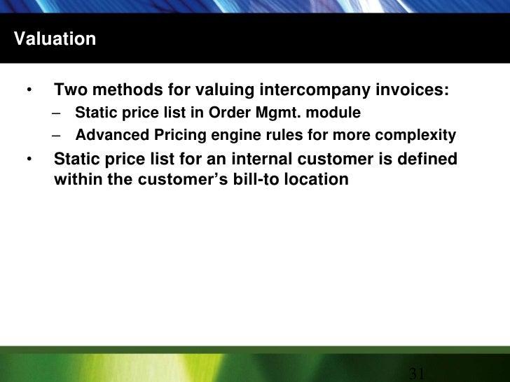 Oracle EBS: Intercompany Invoicing