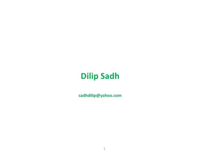 Intercompany process  dilip sadh