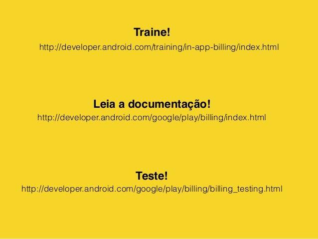 Intercon Android 2014 - Google Play In App Billing