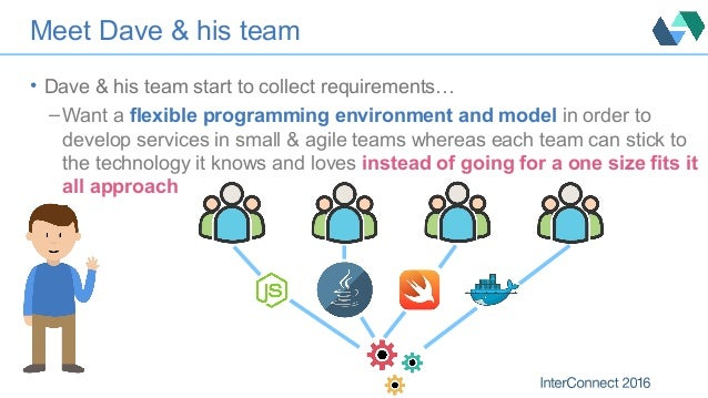 Meet Dave & his team • Dave & his team start to collect requirements… – Want a flexible programming environment and model ...