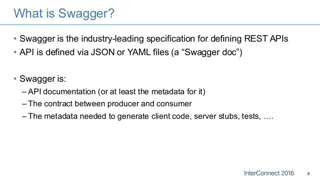 Using IBM WebSphere Liberty and Swagger to Make your