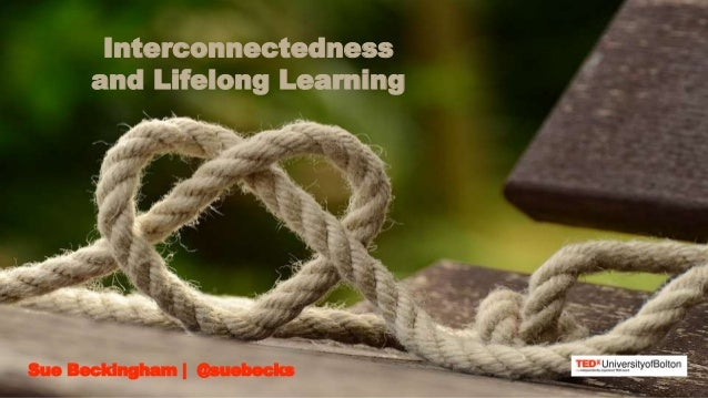 Sue Beckingham | @suebecks Interconnectedness and Lifelong Learning