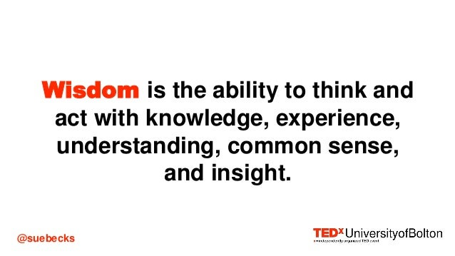Interconnectedness and Lifelong Learning #TEDxUoBolton Slide 3
