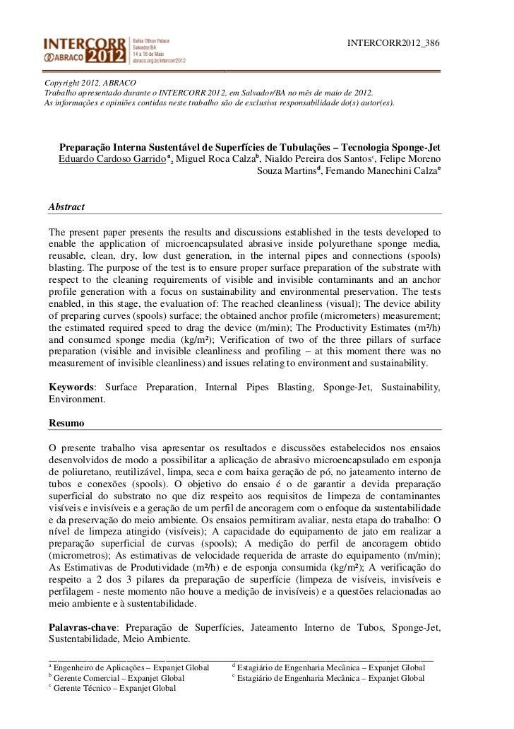 INTERCORR2012_386Copyright 2012, ABRACOTrabalho apresentado durante o INTERCORR 2012, em Salvador/BA no mês de maio de 201...