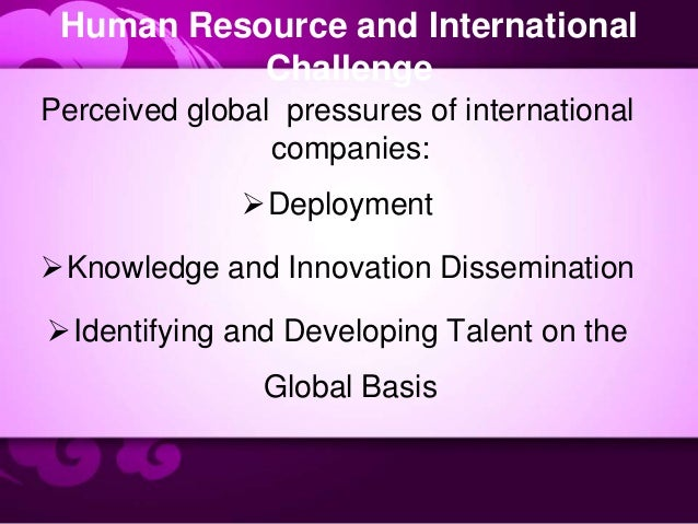 inter country differences affect hrm Human resource management the paper discusses hrm rationale, history, key areas and practice, difference between hard and soft models, and their international tendencies.