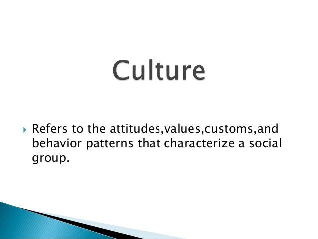 1. Language-defines what is the mean of  human. It forms the core of all culture.  2. Symbols-is anything that that carrie...
