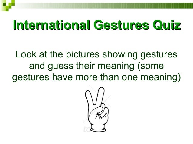 Intercultural Communication Quiz