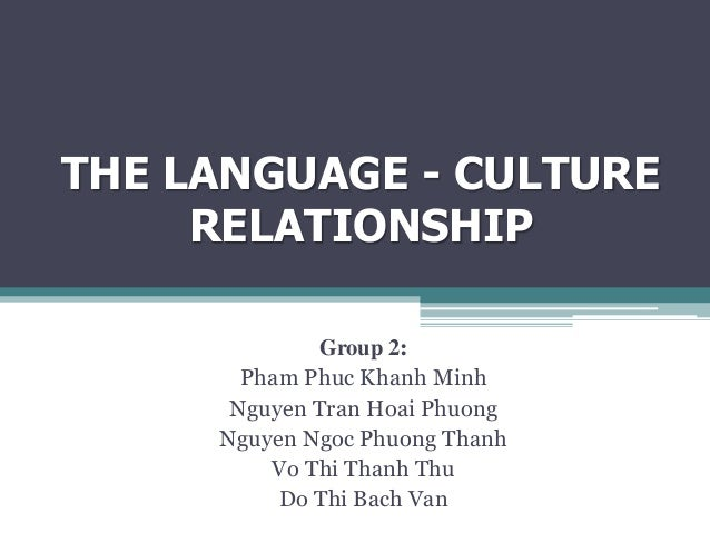relationship of communication and culture