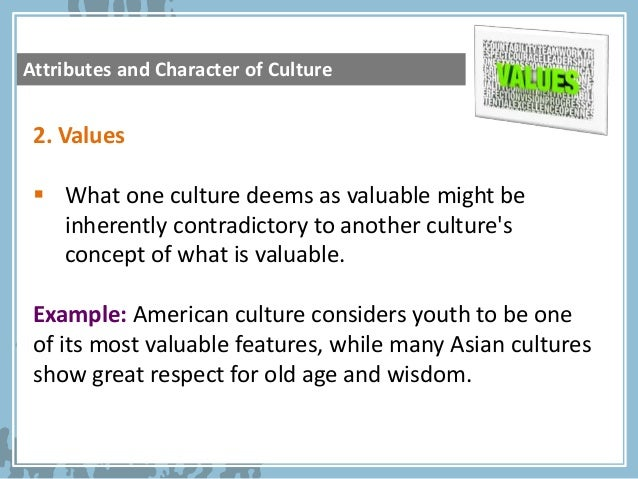 What are examples of American culture?