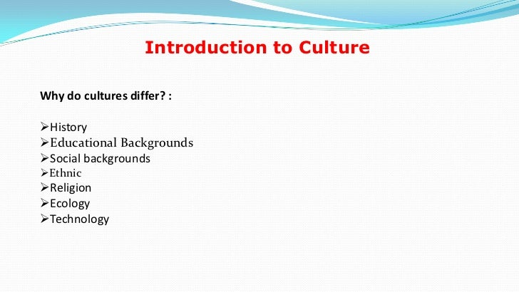 essays cultural conflicts