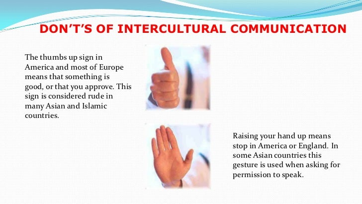 Intercultural communication presentation