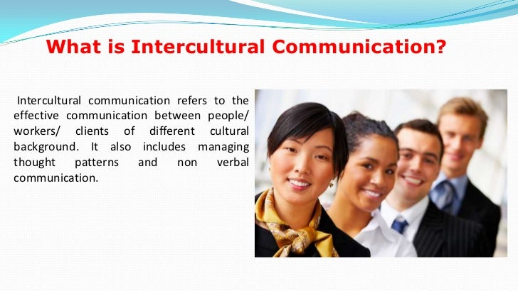 Intercultural communication presentation